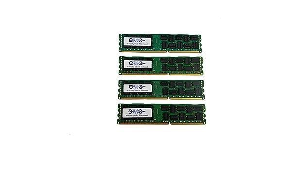 DDR3 PC3-8500R ECC Reg Server Memory for Dell Precision T7600 4x16GB 64GB