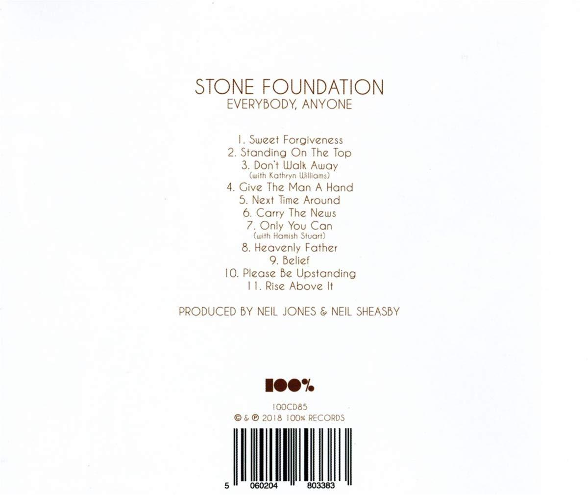 amazon everybody anyone stone foundation 輸入盤 音楽