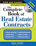 img - for By Mark Warda The Complete Book of Real Estate Contracts [Paperback] book / textbook / text book