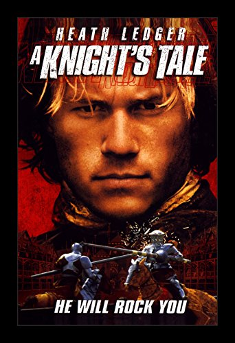 Tale Poster Knights - A Knight's Tale - 11x17 Framed Movie Poster by Wallspace