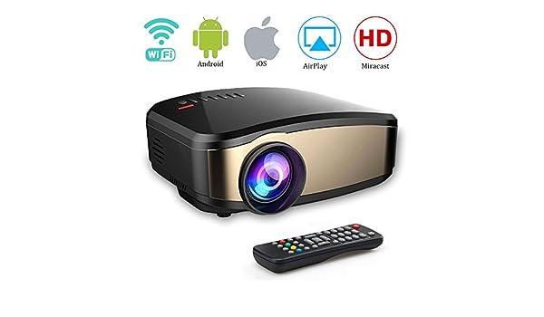 Weton - Mini proyector de vídeo 1080P HD portátil: Amazon.es ...