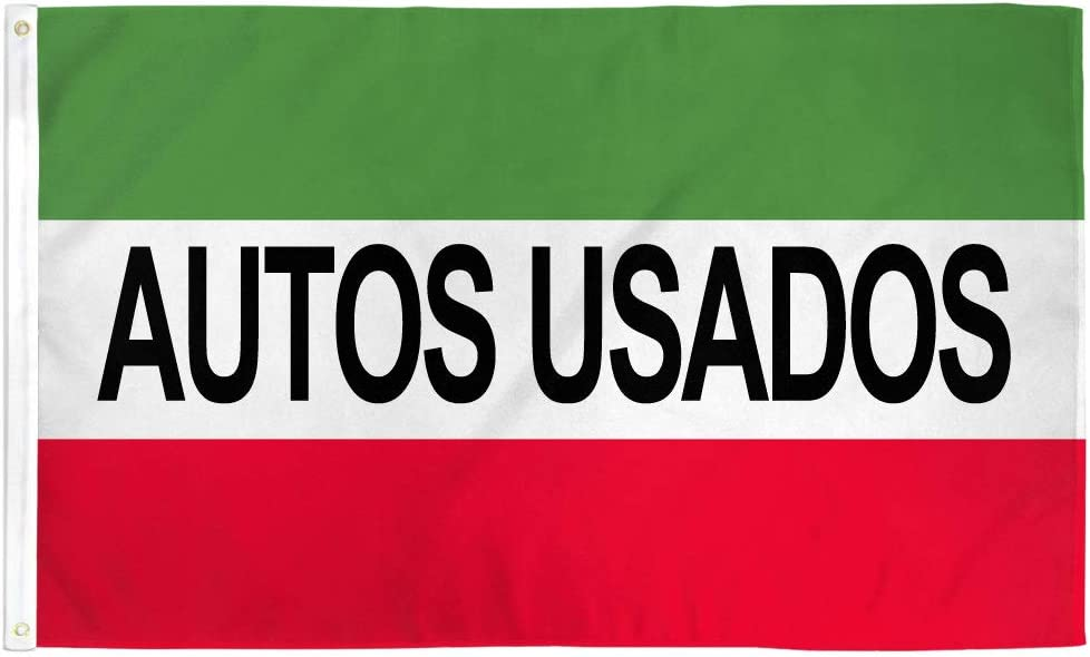 Car Lots Dealerships etc! Perfect for Businesses Infinity Republic Autos Usados 3x5 ft Flag Polyester