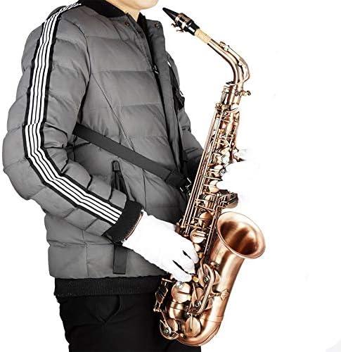 Panamami Arnés Ajustable Profesional Hombro Negro Saxo Saxofón ...