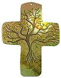"metALUm wall cross ""Olive tree"""