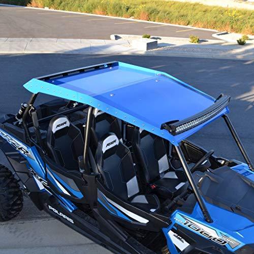 Ferreus Industries Blue Powdercoat Four 4 Seat Aluminum