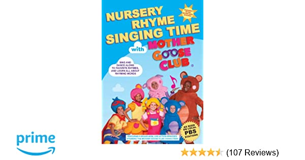 Amazon com: Nursery Rhyme Singing Time with Mother Goose