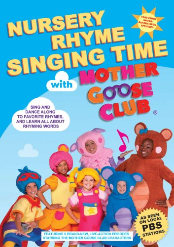 Nursery Rhyme Singing Time with Mother Goose Club - Rhymes Awareness Phonemic