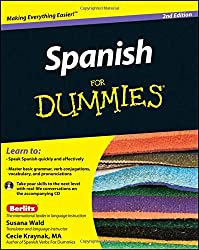 Image of the product Spanish For Dummies that is listed on the catalogue brand of Wiley Publishing.