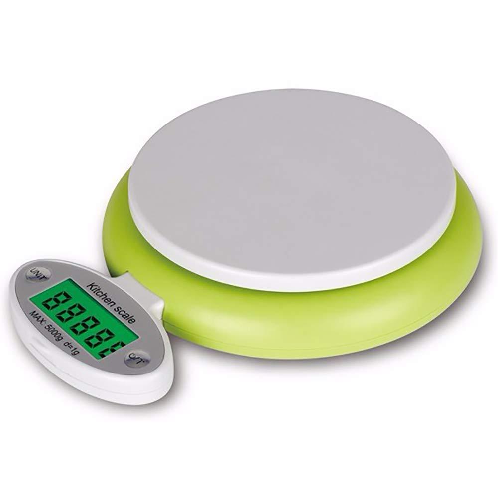 5KG/1G Pantalla LCD Electrónica Cocina Escala Digital Escala Electrónica Cocina Alimentos Dieta Postal Balanza Peso Herramienta: Amazon.es: Hogar