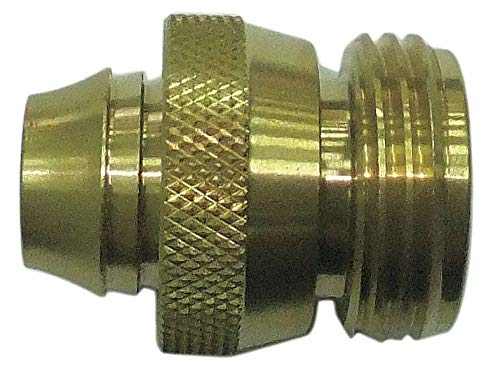 Brass Hose Connector, 3/4''-11.5MNH (GHT) Connection - pack of 5