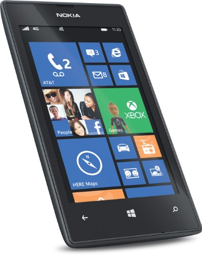 amazon com nokia lumia 520 at t go phone no annual contract rh amazon com Nokia 520 GoPhone Nokia Mobile