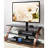 65 inch tv stand with mount - Gracelove 3-in-1 Flat Panel TV Stand for TVs up to 65