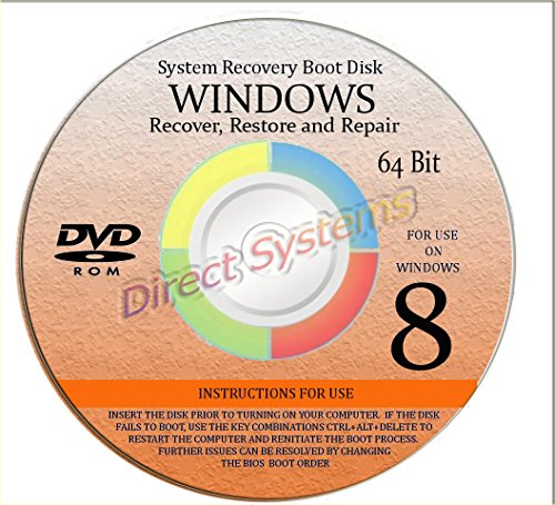 BOOT DISK for RESTORE & RECOVERY for WINDOWS EIGHT 64 - Buy Guess Boots