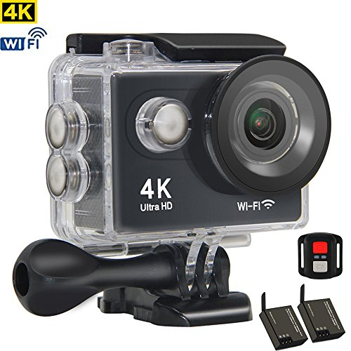 Kids Camera 4K Sports Action Camera WiFi Waterproof 30M Underwater Diving HD 1080P Wireless Mini Camcorder Digital Video Recorder Cam Holiday Birthday Gift -