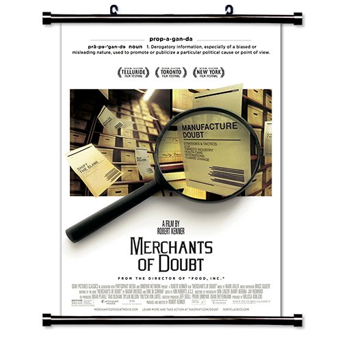 Merchants of Doubt Movie Wall Scroll Poster (16x24) Inches -