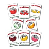 buy Rebel Gardens Heirloom Tomato Seeds Organic - 8 Varieties of Non Gmo Seed for Planting now, new 2018-2017 bestseller, review and Photo, best price $14.99
