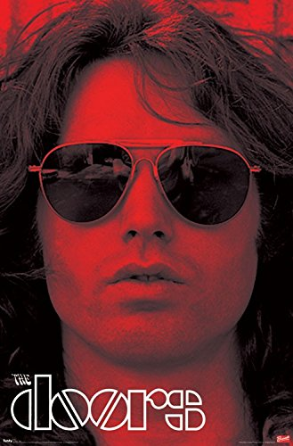 The Doors - Poster - Jim Morrison Sun Glasses - Licensed New In Plastic