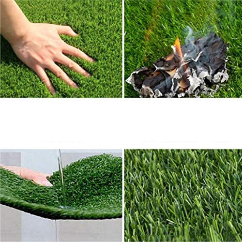 XEWNEG 防水暗号化された屋外の庭のバルコニー装飾のための人工芝、、、簡単にきれいにし、ノンスリップ (Size : 2×12M)