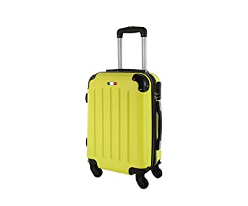 code promo 6be26 2dffd Valise bagage cabine 50cm - Trolley ABS ultra Léger - 4 roues pour voler  avec EasyJet - Ryanair