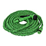 ALL NEW 2017 Garden Hose 100 Feet Expandable Hose With All Brass Connectors, ...