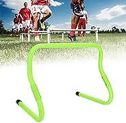 Camidy Agility Speed Training Hurdles,2 Pack Speed Hurdles 15/30cm Height Adjustable Football Soccer Speed Hur