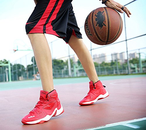 JiYe Performance Sportschuhe Herren Basketball Fashion Sneakers rot