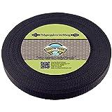 Country Brook Design® 3/4 Inch Black Heavy Polypro Webbing, 50 Yards
