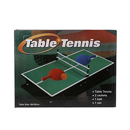 OtGoポータブルミニデスクトップテーブルテニスToy Ping Pongボードゲームセット子供用ホーム誕生日パーティーギフト