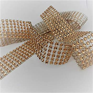 Crafting Pieces Bling Ribbon Sparkly Sugarcraft Cake Decorating Card Craft Mesh Silver Diamante