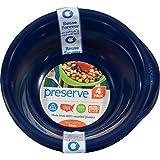 Preserve Everyday Bowl, 16oz, 4pk, Midnight Blue by Preserve