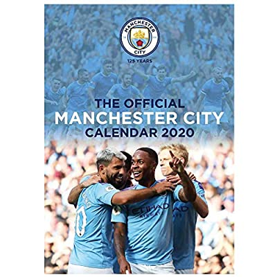 Official Manchester City (Premier League) 2020 Soccer Calendar