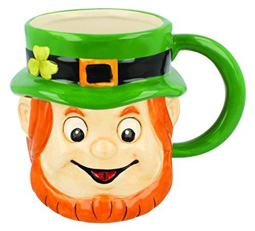 Shamrock Gift Company - Ceramic Leprechaun Mug
