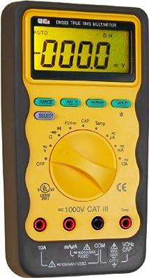 UEi Test Instruments DM393 Auto Ranging CAT-3 TRMS Digital MultiMate, 1000V