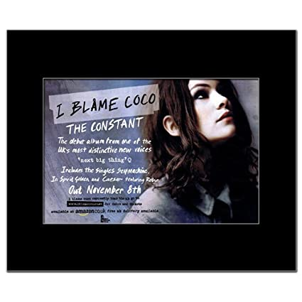 I blame coco the constant