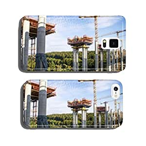 Highway bridge under construction cell phone cover case Samsung S5
