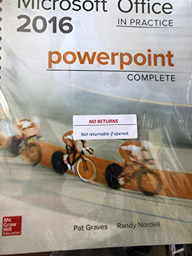 Microsoft Office 2016 Powerpoint Complete - 17 edition