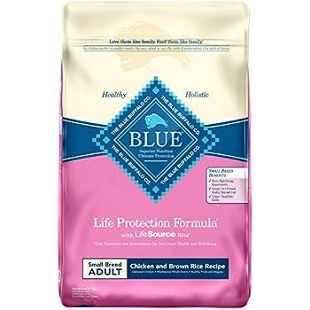 Blue Buffalo Small Breed Chicken & Rice Dog Food, 15 lb. bag