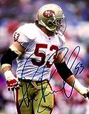 Autographed Bill Romanowski 8x10 Photo San Francisco 49ers.
