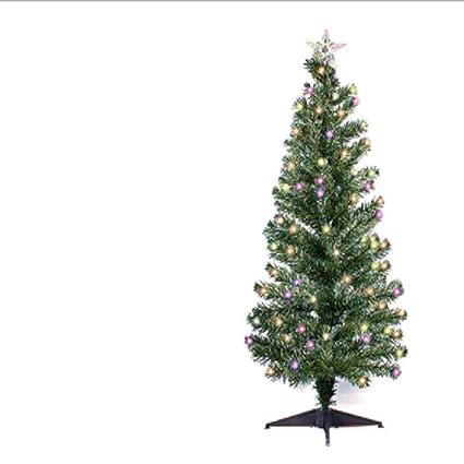 big_store 5 Ft Fiber Optic Christmas Tree Outdoor Xmas Light Optical Led  Pine Artificial Prelighted Lit - Amazon.com: Big_store 5 Ft Fiber Optic Christmas Tree Outdoor Xmas
