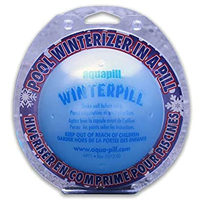 """Swimming Pool Winterizing Ball For Pool - Winter Pill- Apt for Inground and Aboveground Pools """