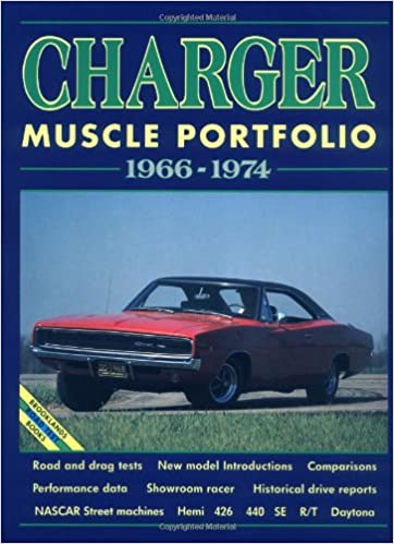 Dodge Charger Muscle Portfolio 1966-1974 Brooklands Road Test Series
