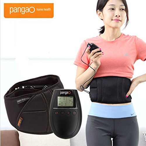 Pangao PG-2012E Diet Belt Massage Abdomen Waist Exercising Massager Loss Weight by Pangao