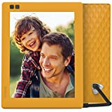 Nixplay Seed 8 inch WiFi Digital Photo Frame - Mango