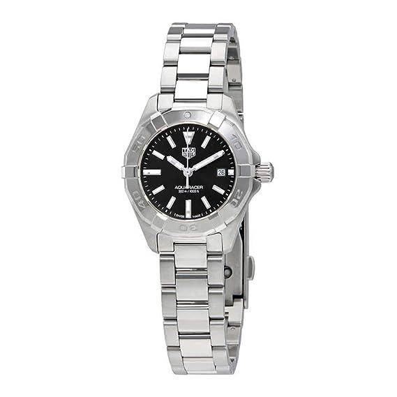 TAG Heuer Aquaracer Reloj de mujer cuarzo 32mm correa de acero WBD1310.BA0740: TAG Heuer: Amazon.es: Relojes