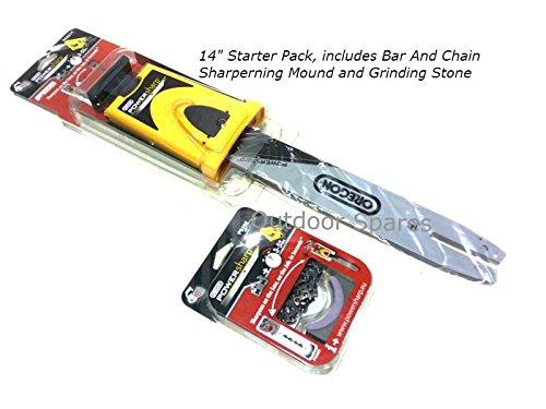 35,6/cm Oregon Powersharp Chainsaw Sch/ärfen Starter Kit f/ür Stihl S/ägen aufgef/ührten