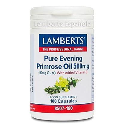 Lamberts - Aceite de Onagra Puro - 180 Cápsulas