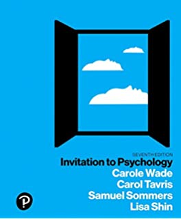 Amazon invitation to psychology books a la carte edition 6th invitation to psychology 7th edition stopboris Image collections