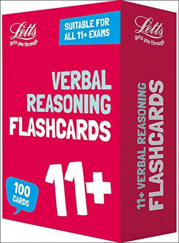 11+ Verbal Reasoning Flashcards (Letts 11+ Success) (Best 11 Plus Practice Papers)