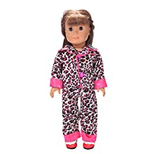 MonkeyJack Rosy Pajamas Nightwear for 18'' American/Our Generation/Journey Girl Dolls