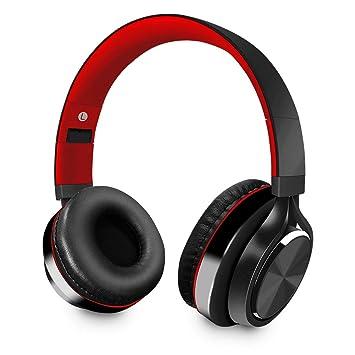 Alitoo Auriculares Bluetooth de Diadema Inalámbricos, Cascos Bluetooth Plegable Hi-Fi Sonido Estéreo (